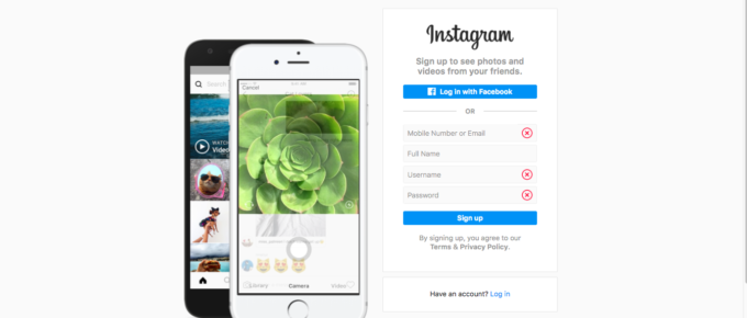How to create your Instagram account